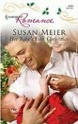 Image for Her Baby's First Christmas (Harlequin Romance)