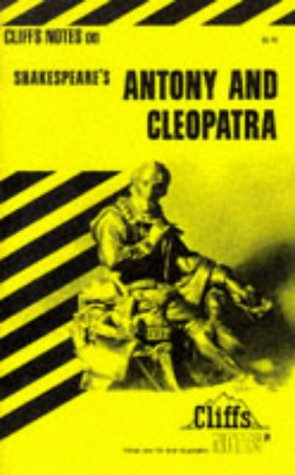 Image for Antony and Cleopatra (Cliffs Notes)