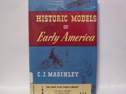 Image for Historic Models of Early America and How to Make Them