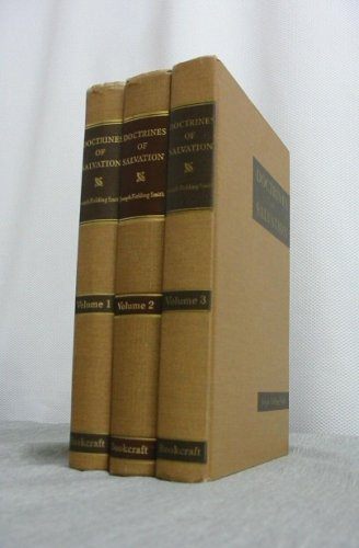Image for DOCTRINES OF SALVATION - 3 VOLUME SET - Sermons and Writings of Joseph Fielding Smith - Vols 1-3