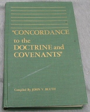 Image for CONCORDANCE TO THE DOCTRINE AND COVENANTS