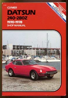 Image for Datsun 240-280Z, 1970-1978, Shop Manual