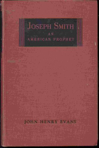 Image for Joseph Smith, an American prophet,