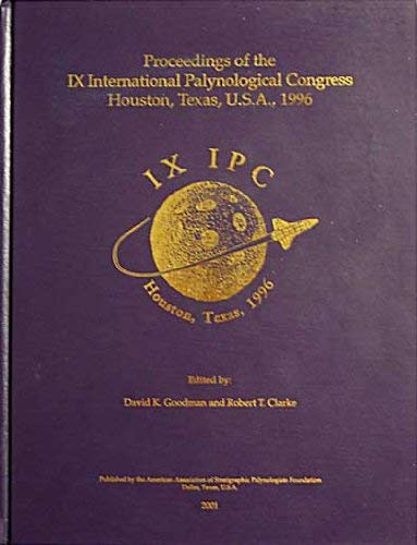 Image for Proceedings of the IX International Palynological Congress. Houston, Texas, U.S.A., 1996 (IX IPC)