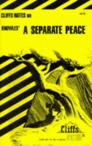 Image for A Separate Peace (Cliffs notes)