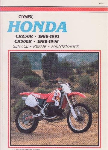 Image for Clymer Honda Cr250r & Cr500r, 1988-1996