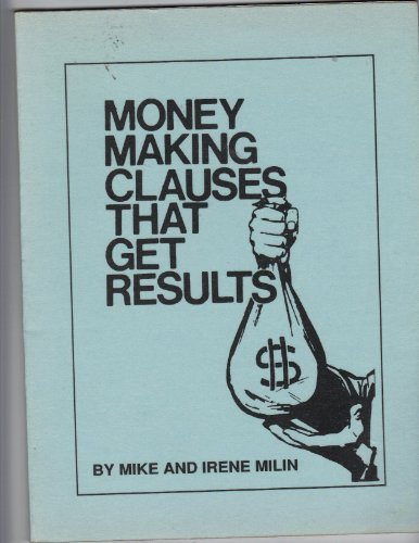 Image for Money Making Clauses That Get Results