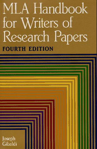 Image for Mla Handbook for Writers of Research Papers (Mla Handbook for Writers of Research Papers)