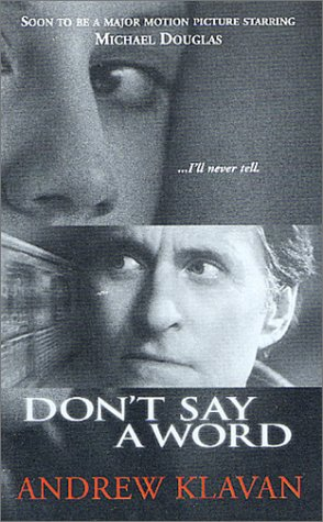Image for Don't Say a Word