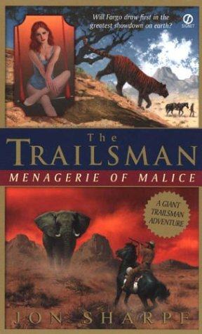 Image for Trailsman (Giant): Menagerie of Malice (The Trailsman)
