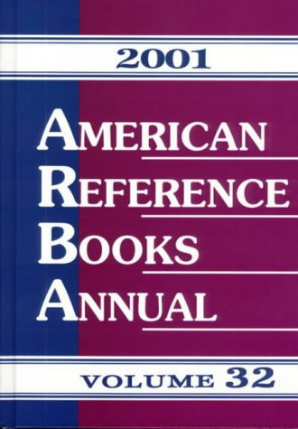 Image for American Reference Books Annual 2001