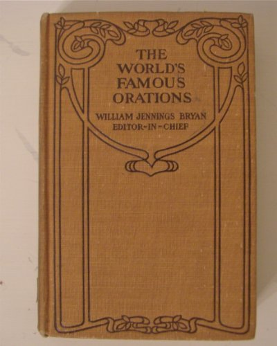 Image for The Worlds Famous Orations Vol. IX America-II