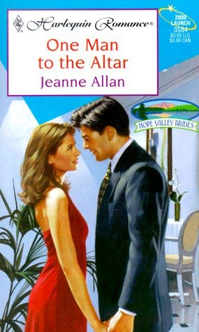 Image for One Man To The Altar (Hope Valley Brides) (Harlequin Romance, 3584)
