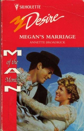 Image for Megan's Marriage (Silhouette Desire, No 979)