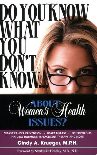 Image for Do You Know What You Don't Know...About Women's Health Issues?