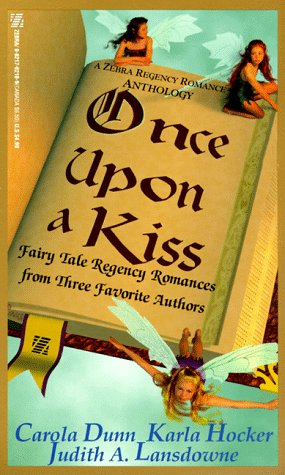 Image for Once Upon A Kiss (Zebra Regency Romance)