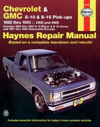 Image for Chevrolet S10 & GMC S15 , '82'93 (Haynes Manuals)