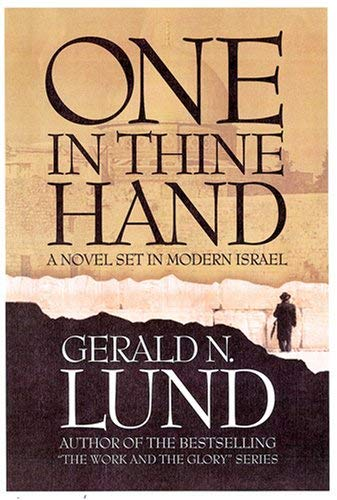 Image for One in Thine Hand: A Novel Set in Modern Israel