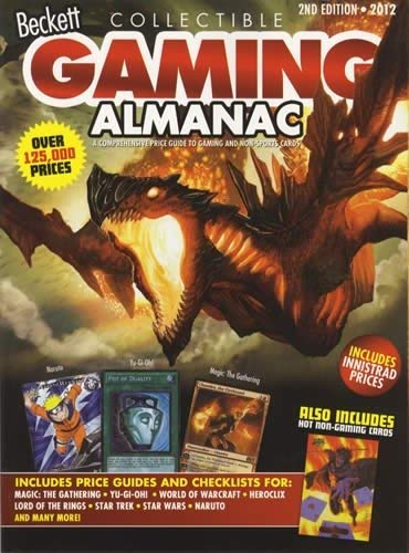 Image for Beckett Collectible Gaming Almanac: A Comprehensive Price Guide to Gaming and Non-Sports Cards