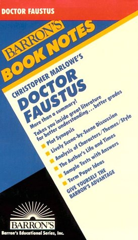 Image for Christopher Marlowe's Doctor Faustus (Barron's Book Notes)
