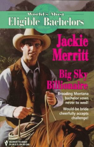 Image for Big Sky Billionaire  (The World'S Most Eligible Bachelors) (Worlds Most Eligible Bachelors)