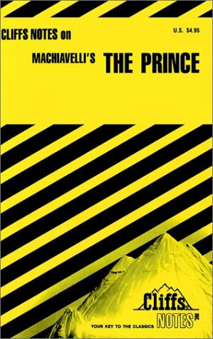 Image for Machiavelli's The Prince (Cliffs Notes)