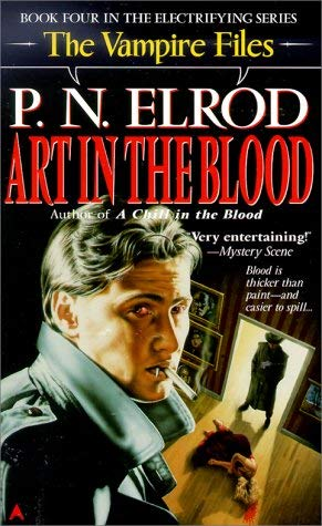 Image for Art in the Blood (Vampire Files, No. 4)