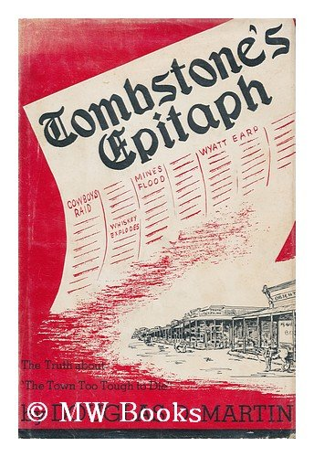 Image for Tombstone's Epitaph [Edited By] Douglas D. Martin