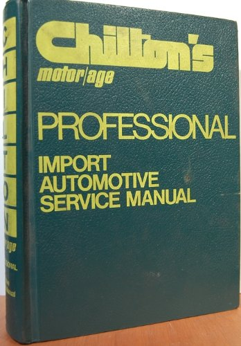 Image for Professional Import Automotive Service Manual