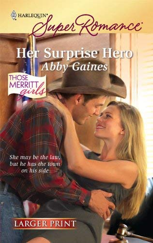Image for Her Surprise Hero (Harlequin Super Romance (Larger Print))