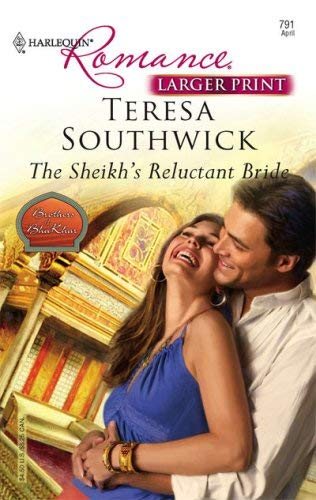Image for The Sheikh's Reluctant Bride (Harlequine Romance: Brothers of Bha Khar)
