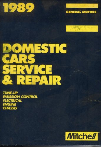 Image for 1989 Domestic Cars Service and Repair