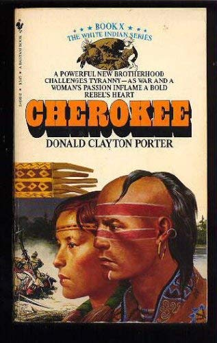 Image for CHEROKEE (Colonization of America : White Indian, Book X)