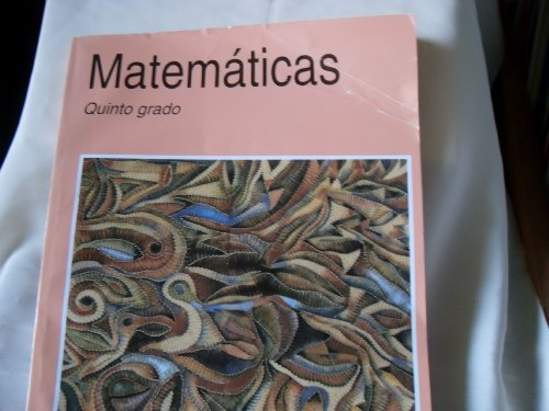 Image for Mathmaticas Quinto Grado