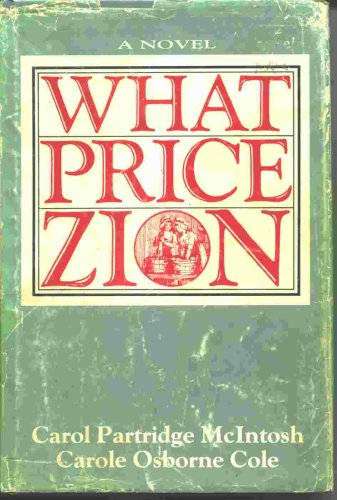Image for WHAT PRICE ZION