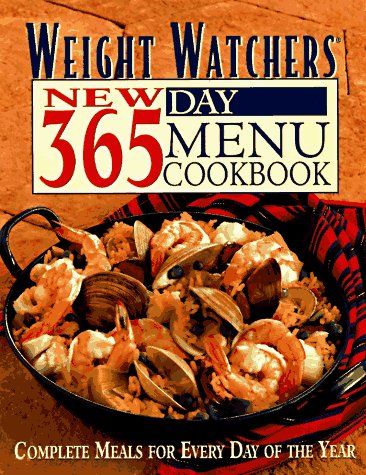 Image for Weight Watchers New 365 Day Menu Cookbook: Complete Meals for Every Day of the Year